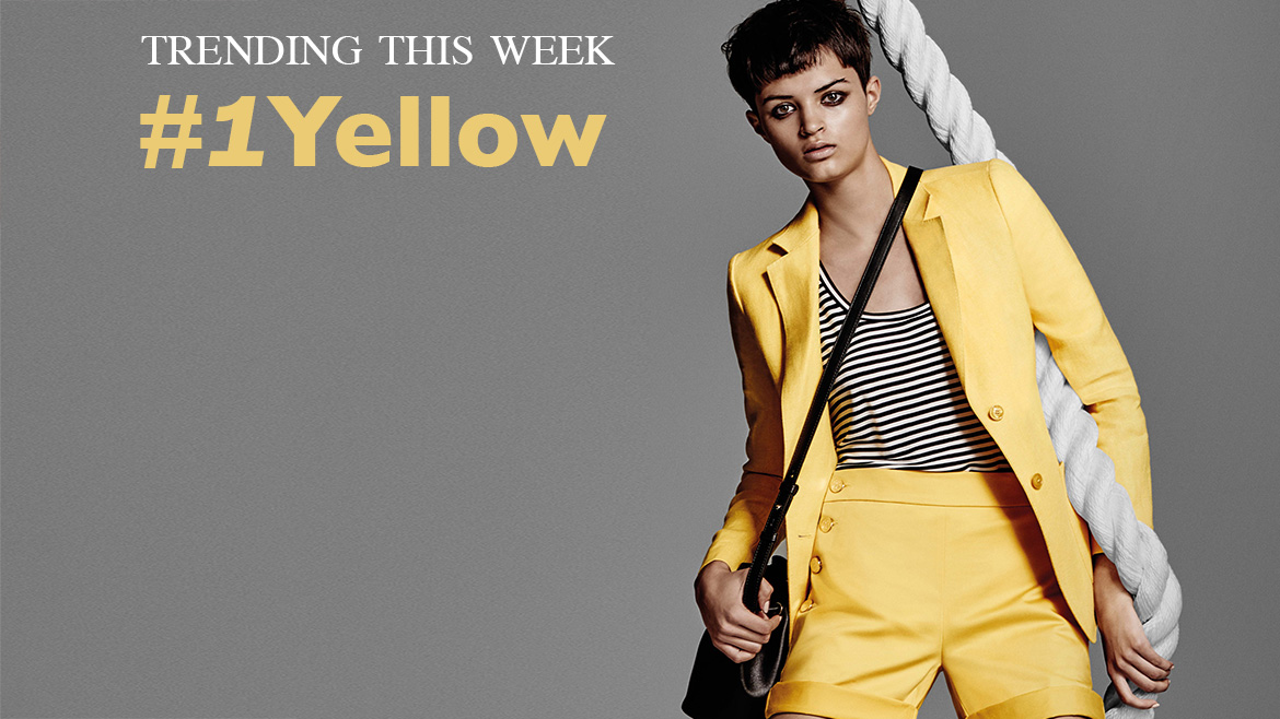 TREND OF THE WEEK  #1 YELLOW