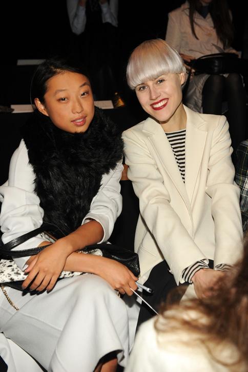 Margaret Zhang and Linda Tol