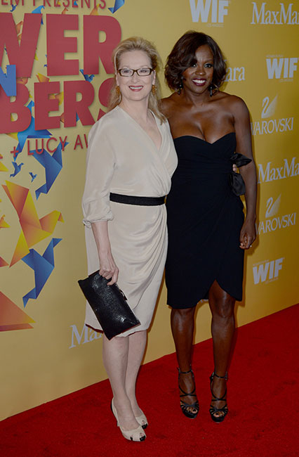Meryl Streep and Viola Davis in Max Mara