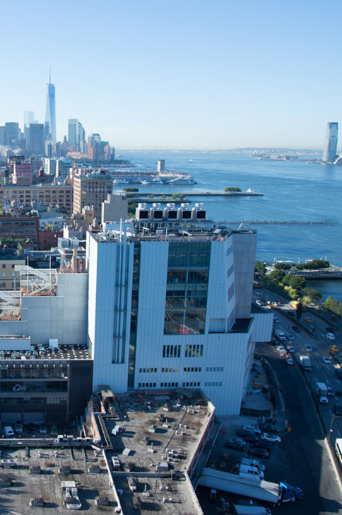Whitney Neighbourhood<br> High Line and Hudson River<br> Credits: Timothy Schenck - Courtesy of The Whitney Museum of American Art
