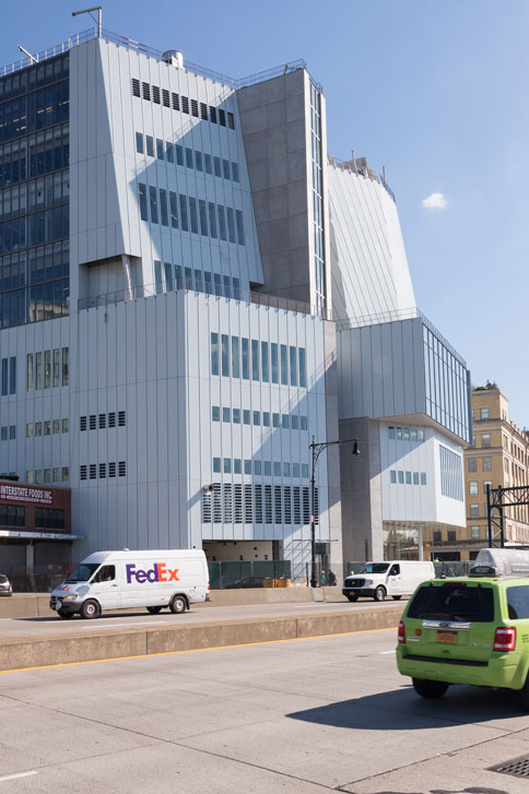 Outstanding Architecture<br>East view of the Whitney Museum<br> Credits: Timothy Schenck - Courtesy of The Whitney Museum of American Art