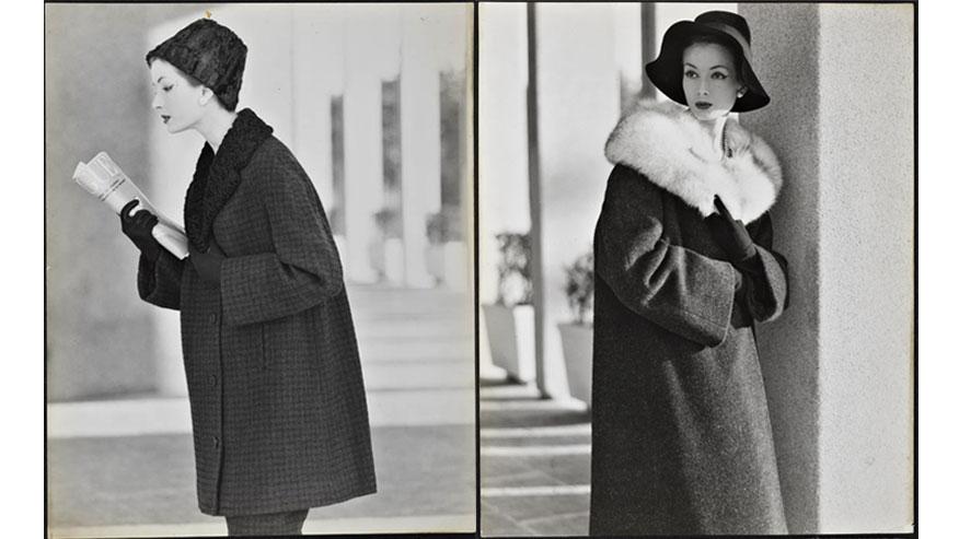 Immagini della collezione Max Mara Autunno/Inverno 1957-1958