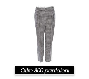 Oltre 800 pantaloni