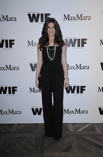 Ashley Greene in Max Mara