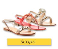 Impreziosisci il tuo look estivo con questi sandali gioiello