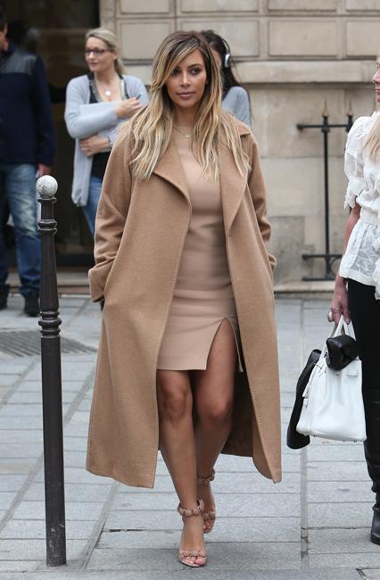 Kim Kardashian in Max Mara