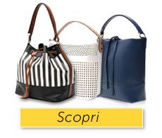 Scegli dimensione e colore per la borsa che non può mancarti!