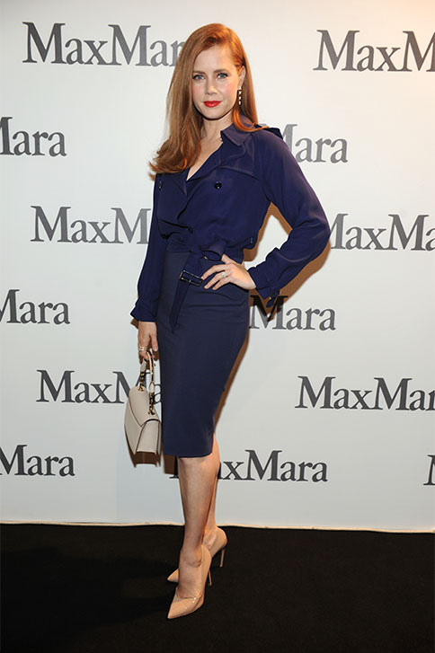 Amy Adams at the Max Mara Spring Summer 2015 Fashion show on 18th September at Milan Fashion Week