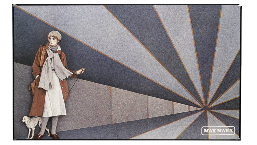 Max Mara advertising campaign Fall/Winter 1976