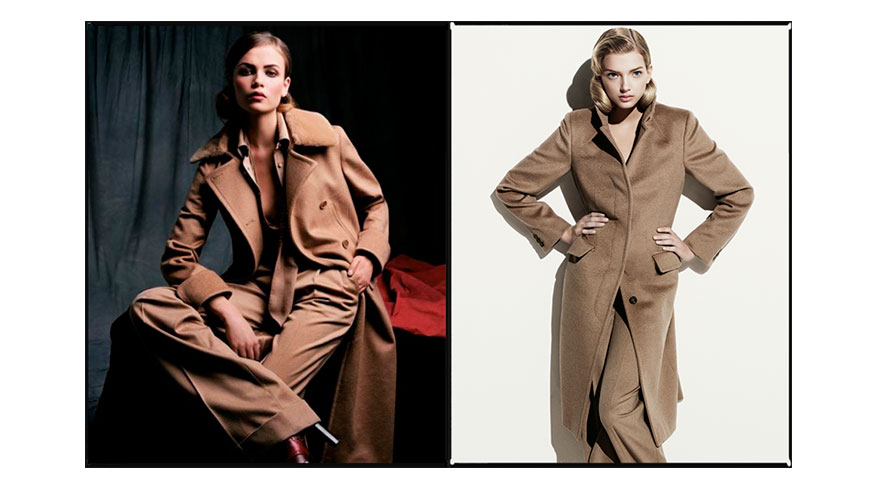 Max Mara Fall/Winter 2004-05 and 2007-08 campaigns