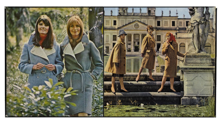"""Arianna"" editorial Max Mara collections Fall/Winter 1960"