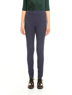 Pantaloni in jacquard
