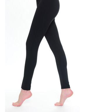 Leggings con piega cucita