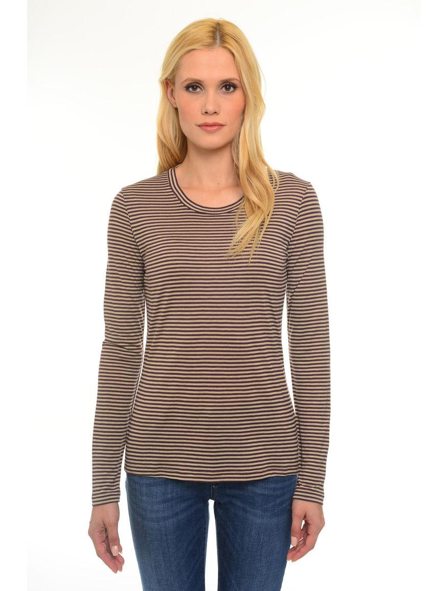 T-shirt in jersey misto lana