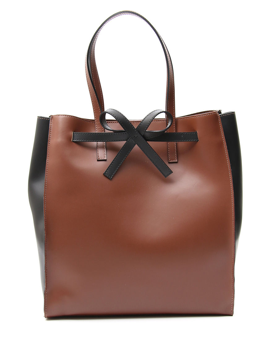 Shopping bag con fiocco