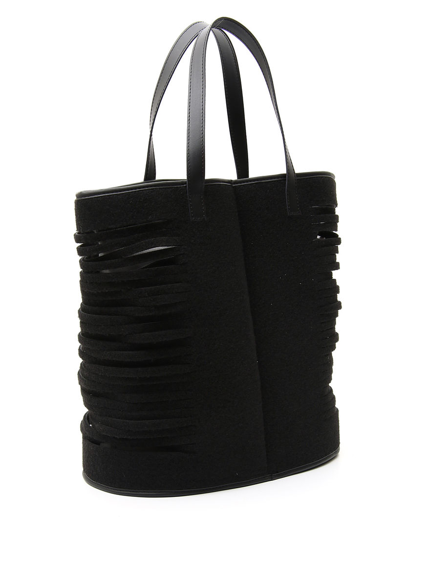 Shopping bag con tagli