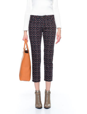 Pantaloni chino in velluto