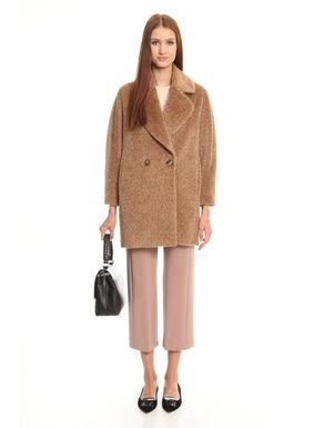 Cappotto misto alpaca