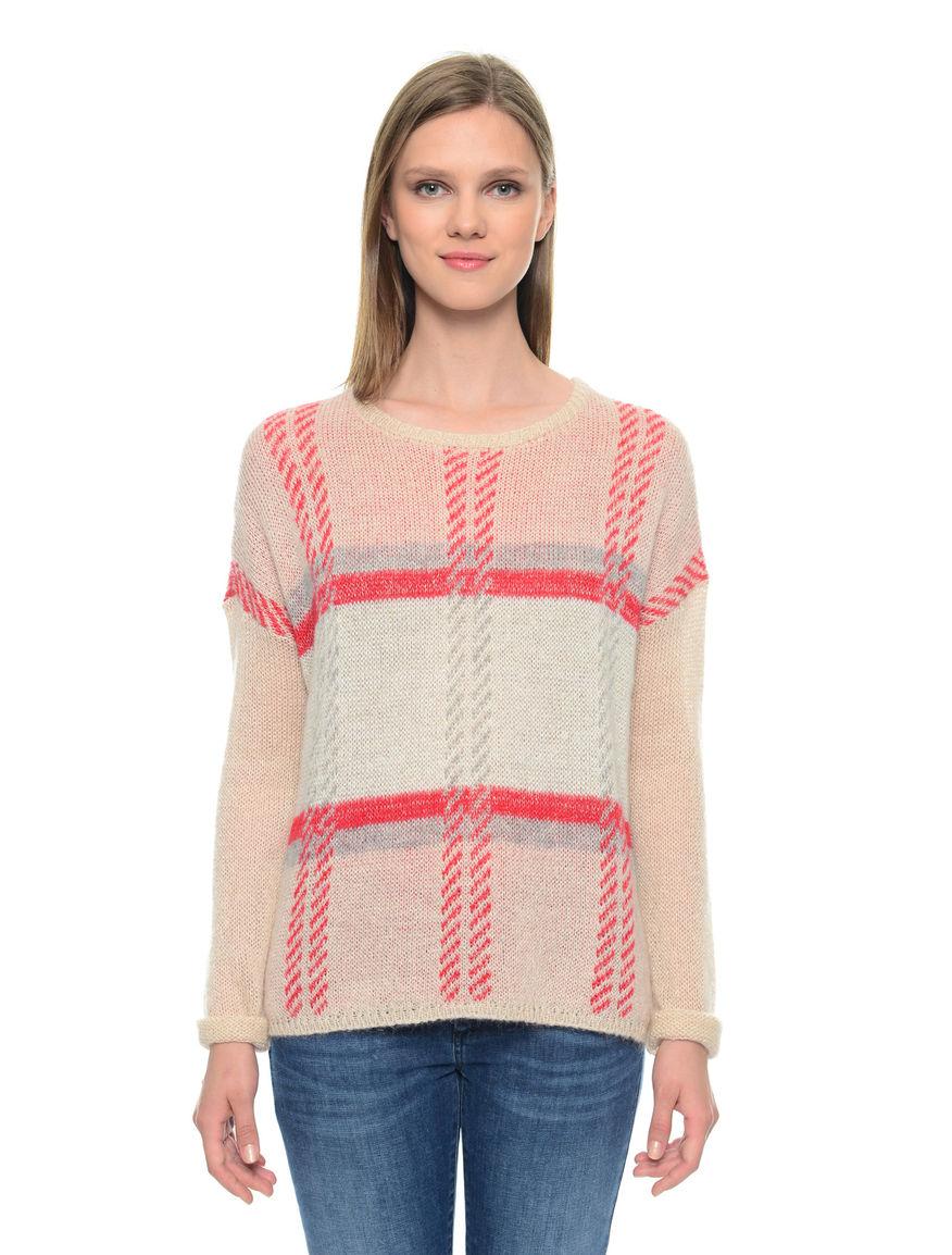 Pullover lurex