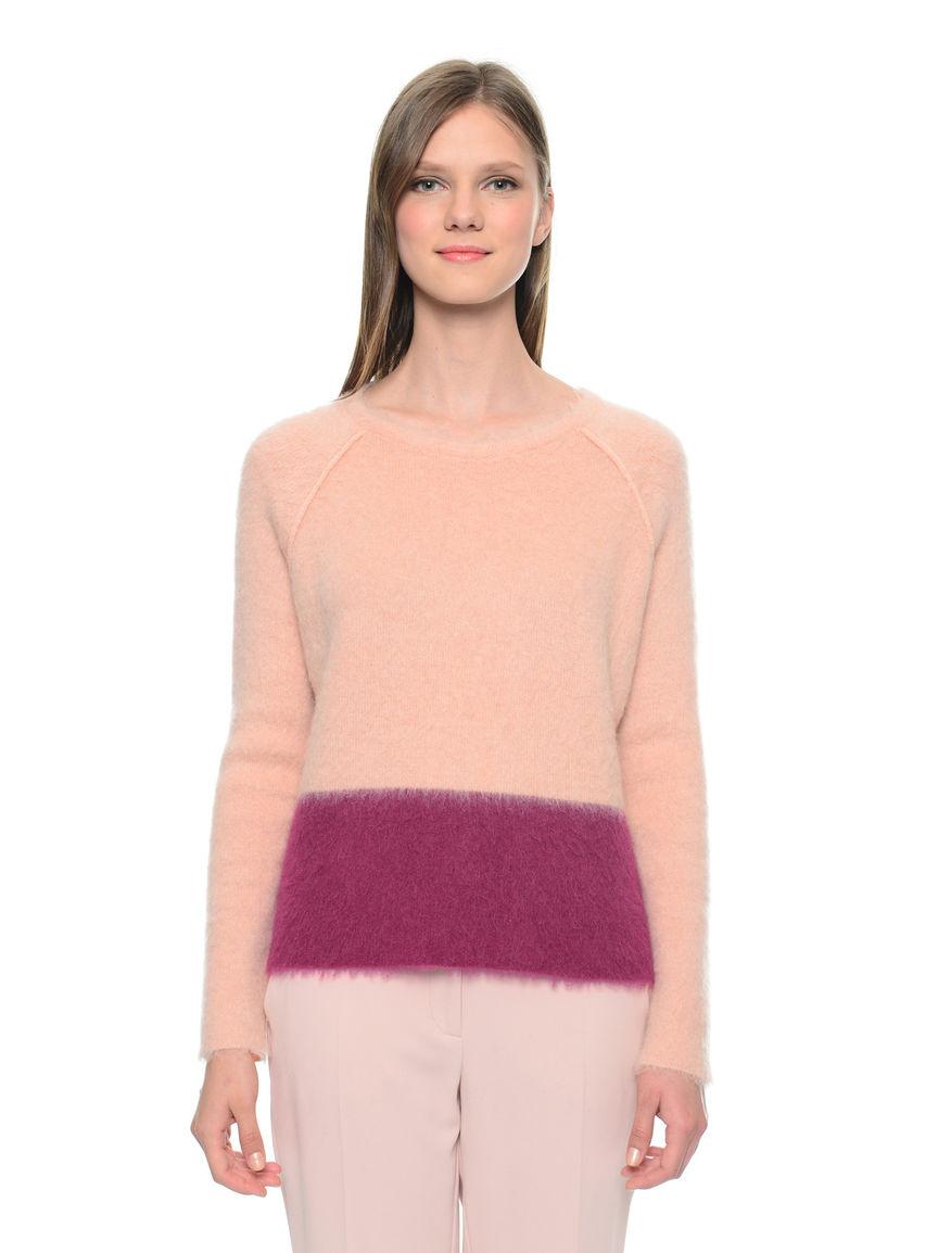Pullover bicolore