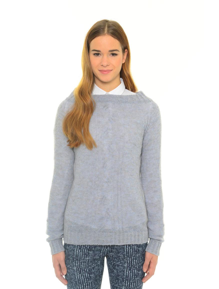 Pullover in lana misto alpaca