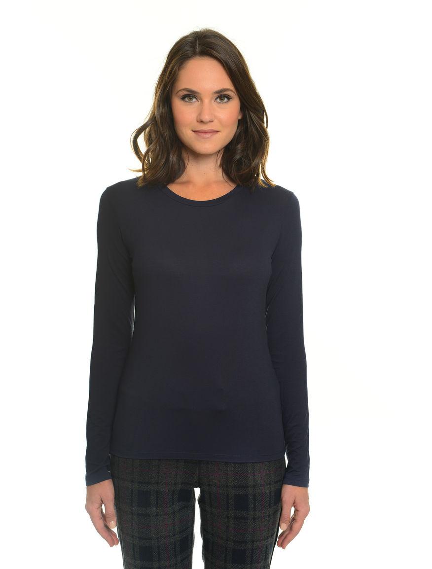T-shirt maniche lunghe slim