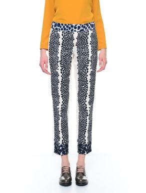 Pantaloni con stampa piazzata