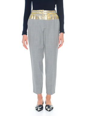 Pantalone con spalmatura
