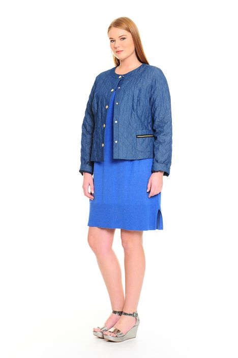 Giacca in chambray
