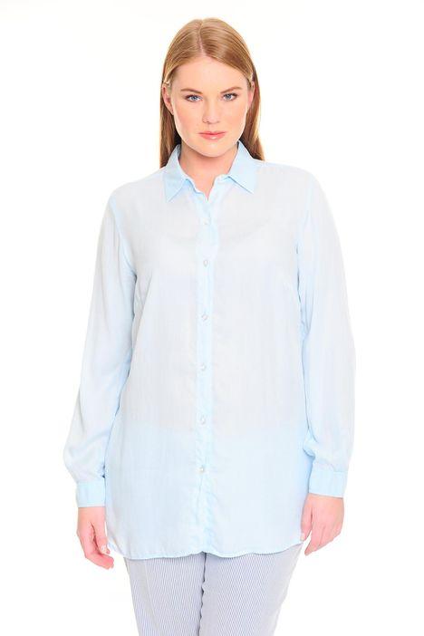 Camicia in lyocell