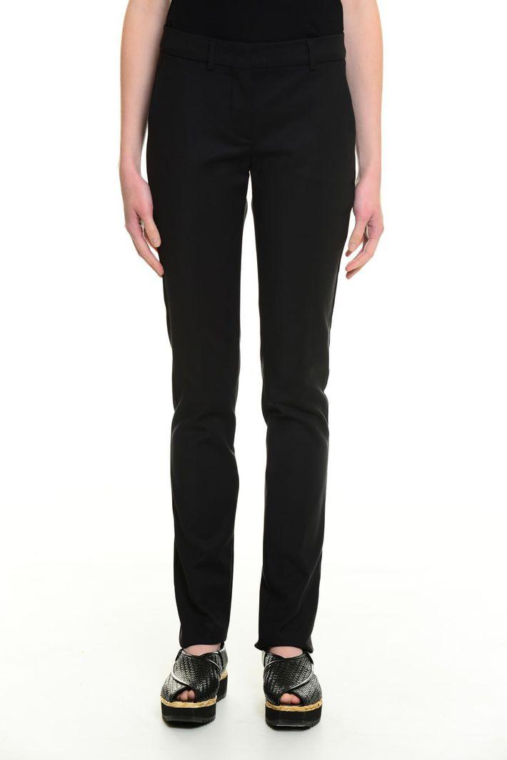 Pantaloni in cotone misto