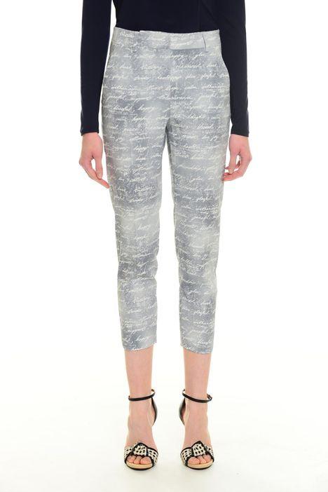 Pantaloni aderente con stampa