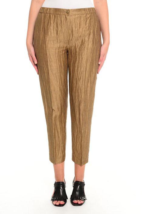 Pantaloni effetto stropicciato