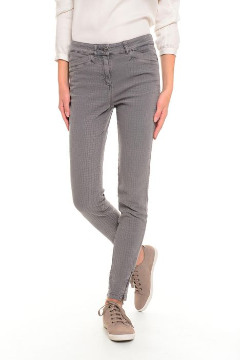 Pantaloni jacquard