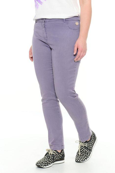 Pantaloni in cotone e lyocell