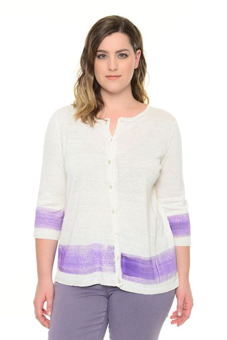 Cardigan in canapa