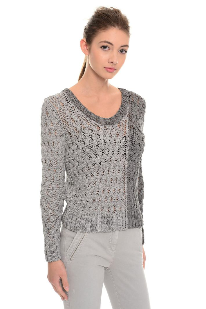 Pullover in viscosa lurex