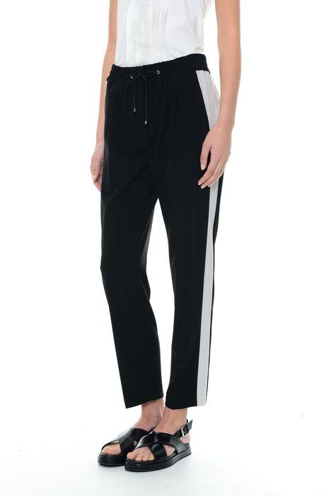 Pantaloni jogging in cady