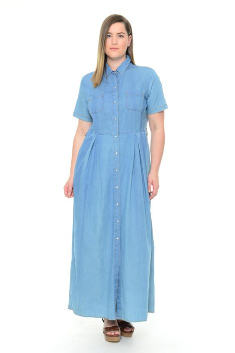 Abito over in chambray