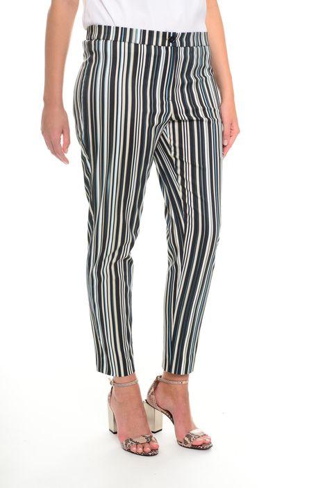 Pantaloni in cotone stampato