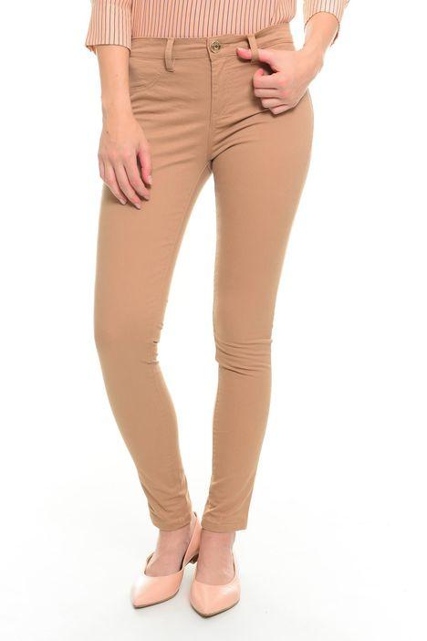Pantaloni in gabardina stretch
