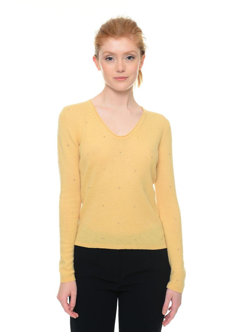 Pullover in lana e cashmere