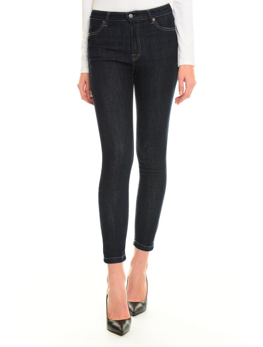 Pantaloni skinny in denim