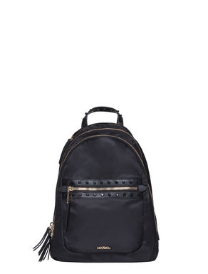 Nylon backpack with studs