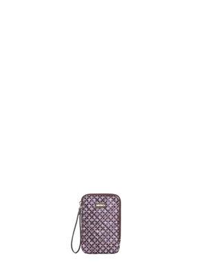Nylon and scuba fabric mobile phone case