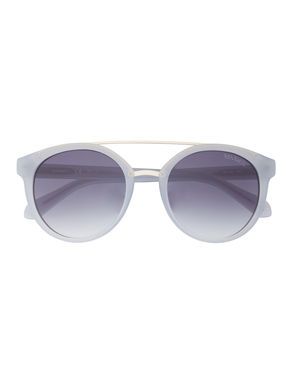 Aviator sunglasses with double bridge