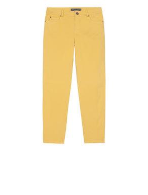 Pantaloni skinny fit di cotone stretch