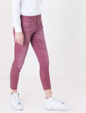 Jeans skinny fit colorato