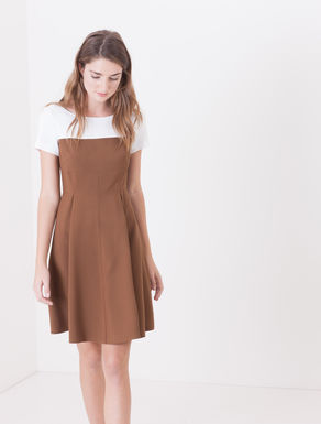 Corolla Dress di cady bicolore