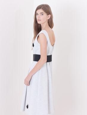 Corolla Dress con decoro bijou